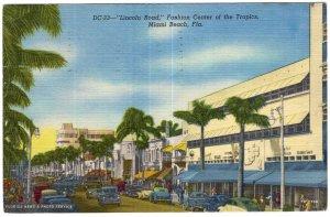 Miami Beach, Fla, Lincoln Road, Fashion Center of the Tropics