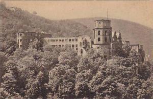 Das Schloss V. D. Terrasse Gesehen, Heidelberg (Baden-Wurttemberg), Germany, ...