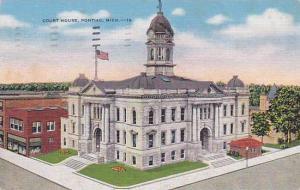 Court House, Pontiac, Michigan, PU-1953