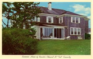MA - Hyannisport, Cape Cod. Senator Ted Kennedy's Home