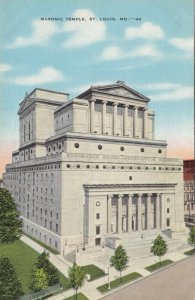 ST. LOUIS , Missouri , 30-40s; Masonic Temple