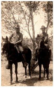 2 Soldiers on Horseback