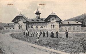 Romania Brasov Predeal Sanatoriul Kronstadt Schanzpass Sanatorium
