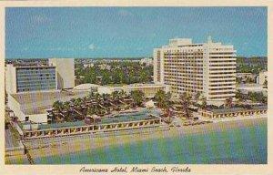 Florida Miami Beach Americana Hotel