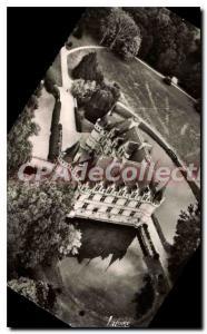 Modern Postcard Azay Le Rideau View Aerienne Du Chateau