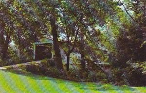 Indiana Rockville Portland Mills Covered Bridge