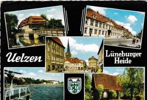 Postcard Germany Luneburger Heide 5 views