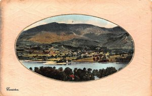 Coniston Lake General view Village Postcard