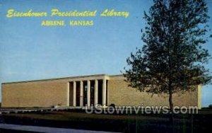 Eisenhower Presidential Library - Abilene, Kansas KS