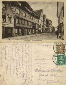 LIPPSTADT, Fleischhauerstrasse (1927) AK