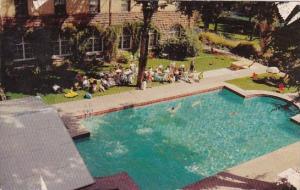 Hotel Colorado With Pool Glenwood Springs Denver Colorado 1957