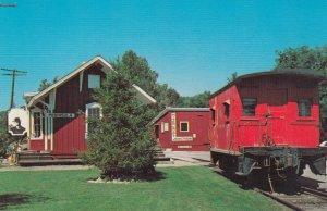 PENINSULA , Ohio , 1950-60s ; Railroad Train Depot