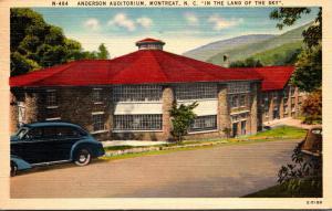 North Carolina Montreat Anderson Auditorium 1953