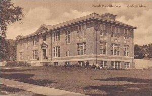 Massachusetts Amhurst French Hall M.A.C. Albertype