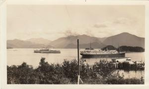 RP: SITKA , Alaska , 1936 ; S.S. Auelltian Grounded