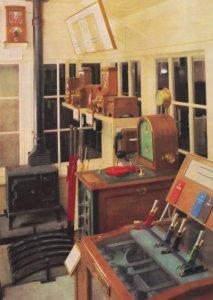 Haddiscoe Junction Signal Box Norfolk Railway Postcard