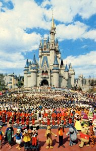 FL - Orlando. Walt Disney World. Cinderella Castle
