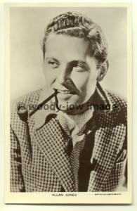 b0822 - Film Actor - Allan Jones - Picturegoer postcard no 1091