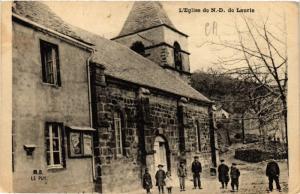 CPA L'Église de N.-D. de Lautie (517233)