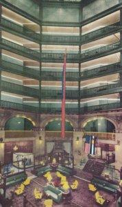 DENVER , Colorado , 1950-60s ; Lobby of Brown Palace Hotel