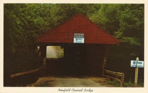 Covered Bridge at Newfield, Tompkins Country NY, New York