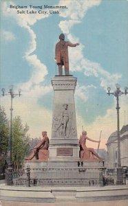 Brigham Young Monument Salt Lake City Utah 1909