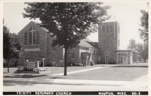 RP: WAUPUN, Wisconsin, 1950s; Trinity Reformed Church