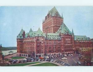Unused Pre-1980 TOWN VIEW SCENE Quebec City QC p8704