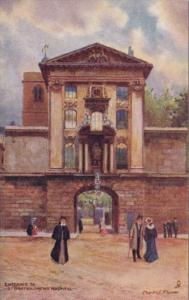 England London Entrance To St Bartholomews Hospital Tucks