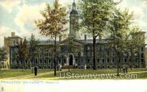 Princeton University Princeton NJ Unused