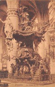 La Chaire de Ste Gudule Bruxelles Belgium Unused
