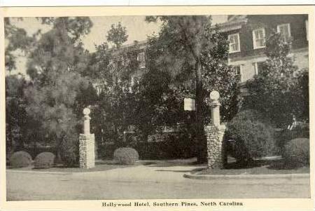Hollywood Hotel, Southern Pines, North Carolina, 1930s