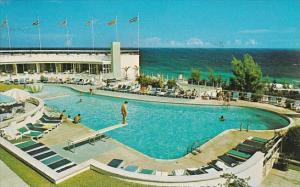 Bermuda The Pool At Elbow Beach Surf Club 1974