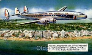 Eastern Airlines Turbo Compound Powered Super C Constellation, Miami Beach, F...