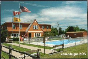 New York CANANDAIGUA KOA 5374 Farmington Townline Rd Fingers Lakes - Cont'l