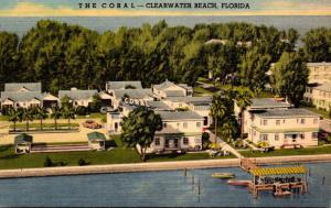 Florida Clearwater Beach The Coral Apartment Hotel Curteich