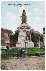 Portland, Me, Soldier's and Sailor's Monument