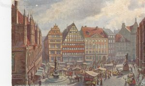 HANNOVER , Germany, 1900-10s ; Markt mit Lutherdenkmal ;  TUCK 630 B