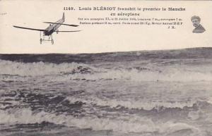 Louis BLERIOT franchit le premier la Manche en Aeroplane , France, 00-10s