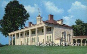 Home of George Washington - Mount Vernon, Virginia