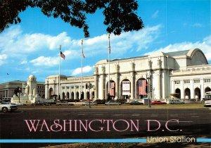 USA Postcard, Washington D.C, Union Train Railway Station GH2