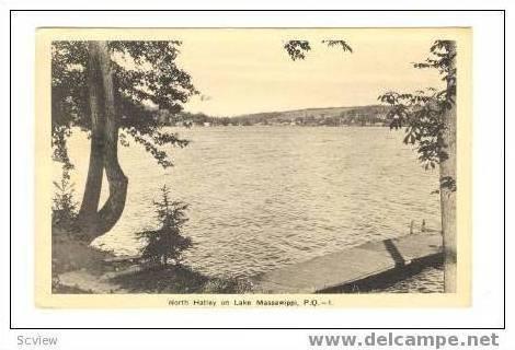North Hatley On Lake Massawippi, Quebec, Canada, 1939