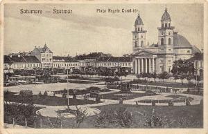 Romania Satumare Satu Mare, Szatmar, Piata Regele Carol-ter 1932