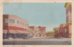 Canada Alberta Medicine Hat Third Street 1948