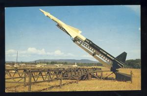 Huntsville, Alabama/AL Postcard, US Army Ordance Nike Missile