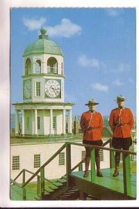 Royal Canadian Mounted Police, Old Clock Tower, Citadel Hill, Halifax, Nova S...