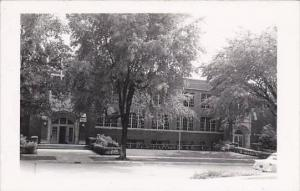 Illinois Eureka Township High School Real Photo RPPC