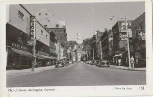 RP: BURLINGTON , Vermont, 1940s ; Church Street
