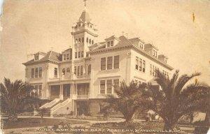 Moreland Notre Dame Academy, Watsonville, CA c1910s Albertype Vintage Postcard