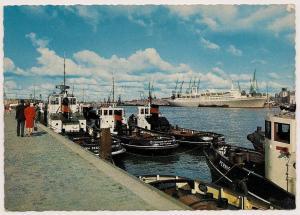 Tugs - Rotterdam Harbour - Post Card - Unused